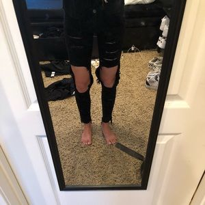 LF ripped jeans
